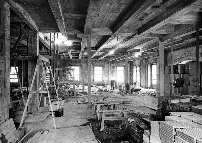 white house gutted truman restoration 1949 - 1951 (15)