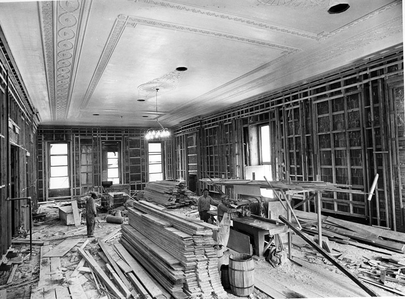 white house gutted truman restoration 1949 - 1951 (16)