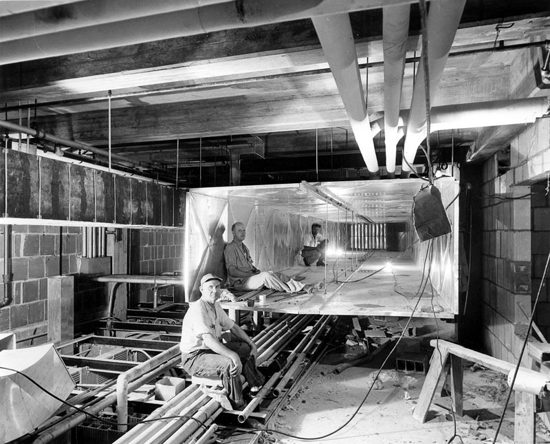 white house gutted truman restoration 1949 - 1951 (17)