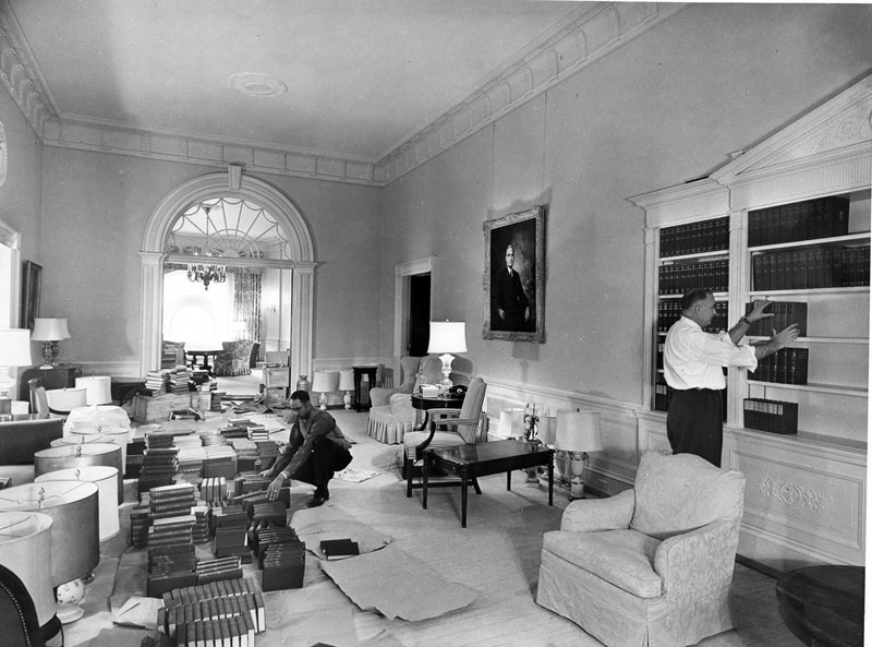 white house gutted truman restoration 1949 - 1951 (22)