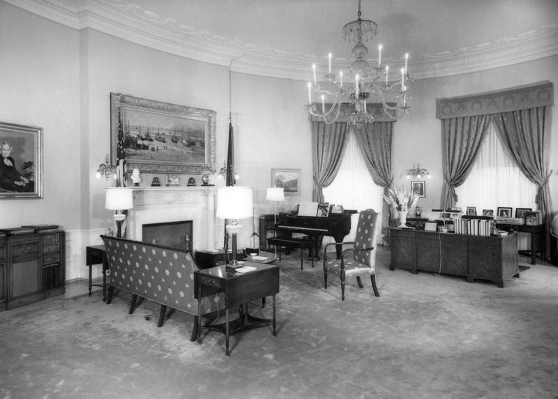 white house gutted truman restoration 1949 - 1951 (29)