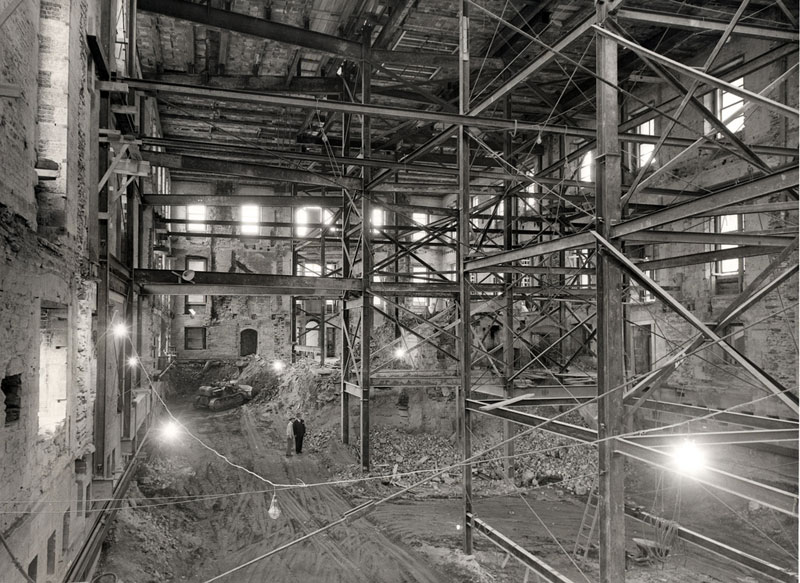 white house gutted truman restoration 1949 - 1951 (3)