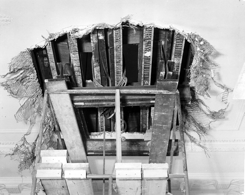 white house gutted truman restoration 1949 - 1951 (5)