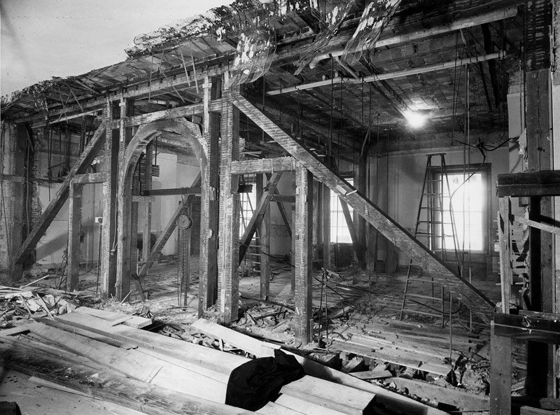 white house gutted truman restoration 1949 - 1951 (7)