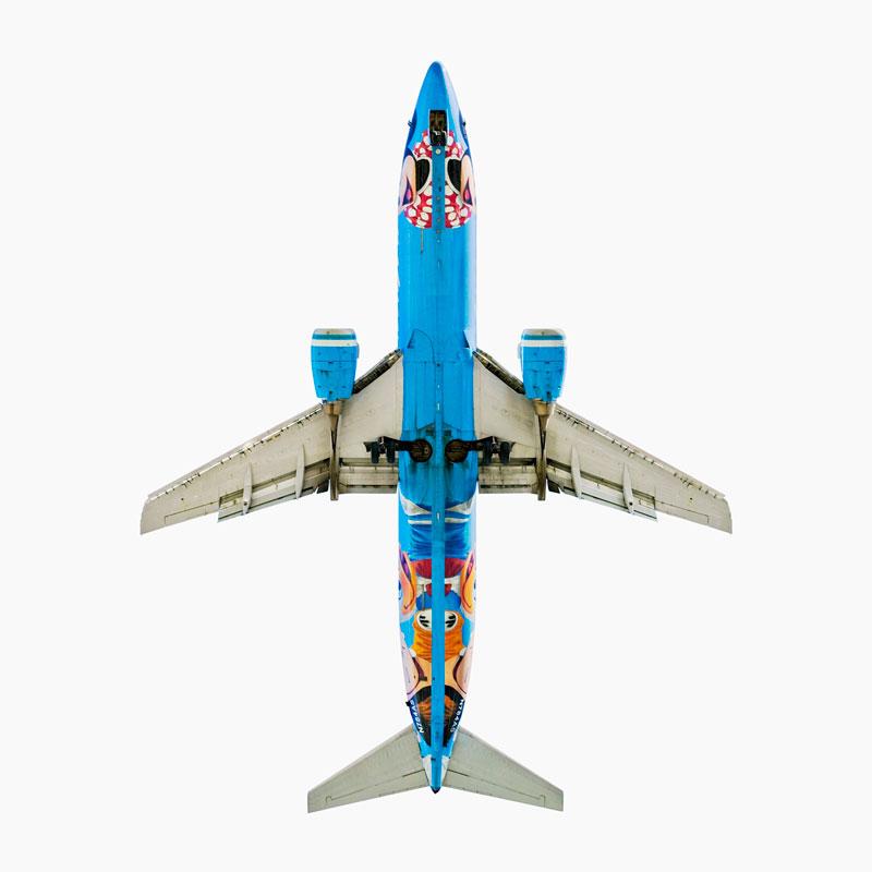 alaska airlines boeing 737 400 d jeffrey milstein Extreme Plane Spotting at Maho Beach, Saint Martin