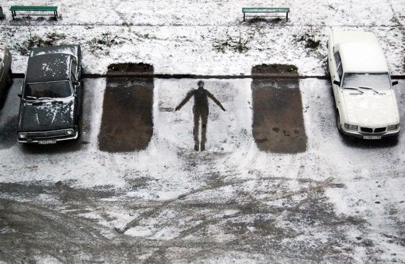 Subtle Street Art by AlexeyMenschikov