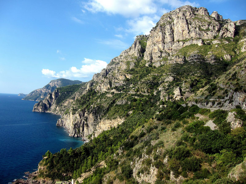 amalfi coast italy road to sorrento1 21 Roads You Have to Drive in Your Lifetime