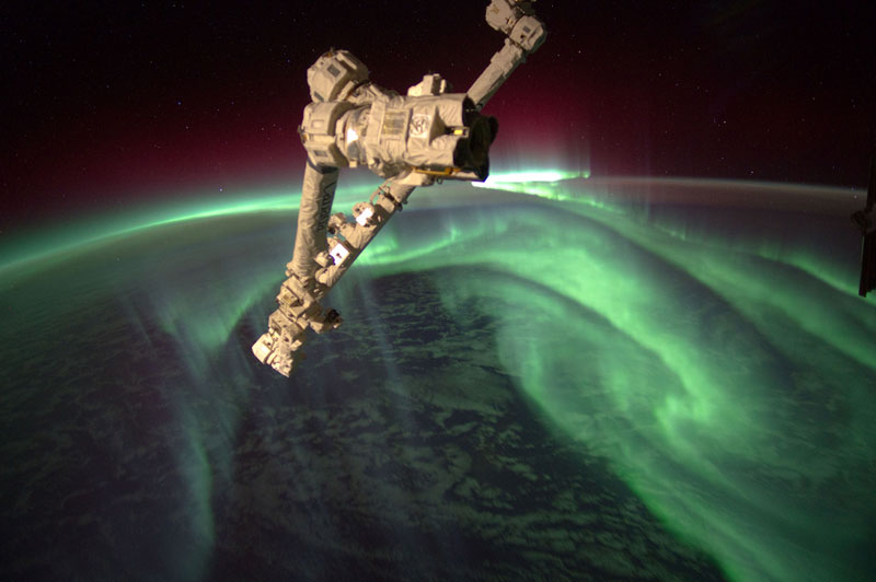 aurora astralis from space Picture of the Day: Aurora Astralis from Space