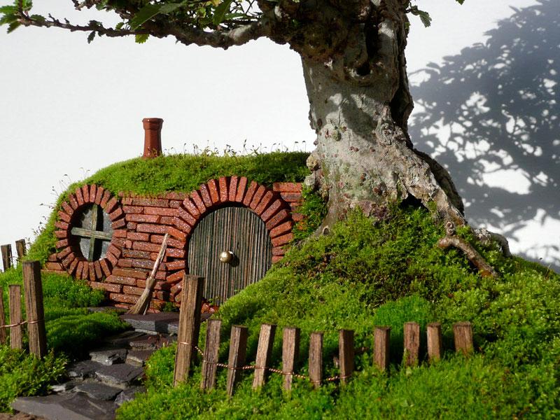 bonsai baggins hobbit home by chris guise (4)