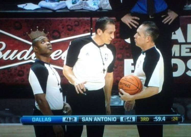 budweiser crown ref perfect timing