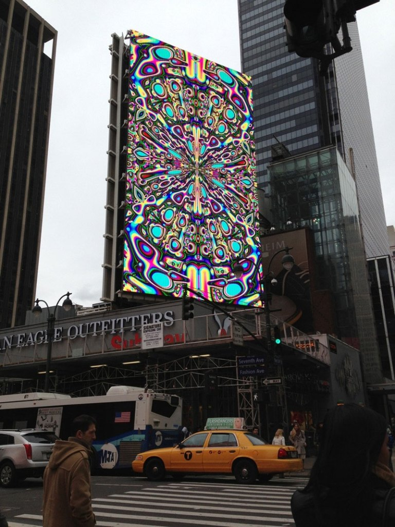 Picture of the Day: Calibrating a Digital Billboard