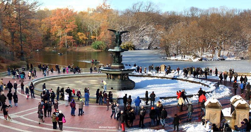 Picture of the Day: Central Park 90 DaysApart