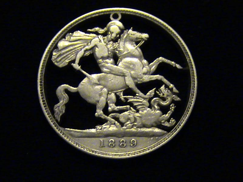 21 Examples of Cut Coin JewelryArt