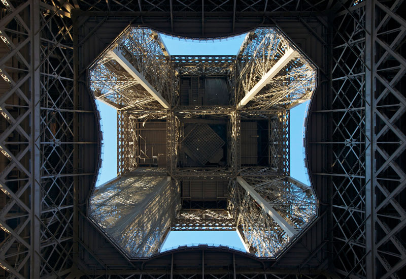Picture of the Day: The Eiffel Tower from Below