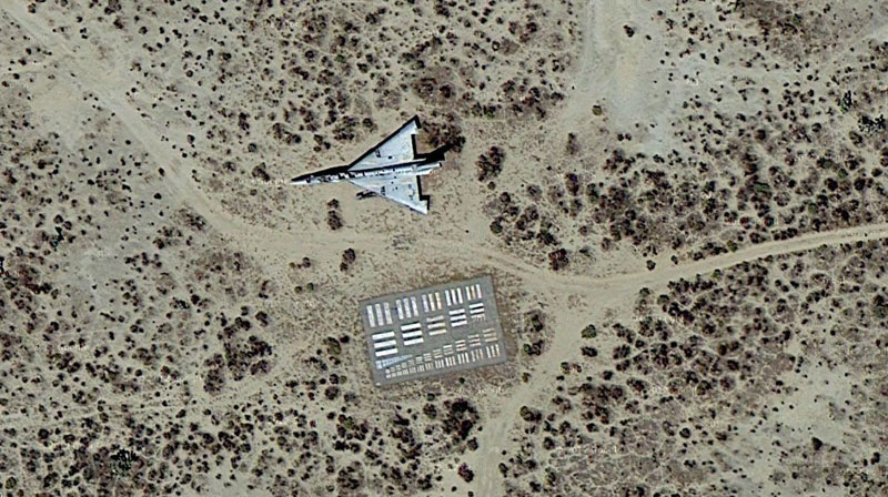 eye charts for airplanes aerial cameras calibration targets 10 The Abandoned Star Wars Set in the Desert