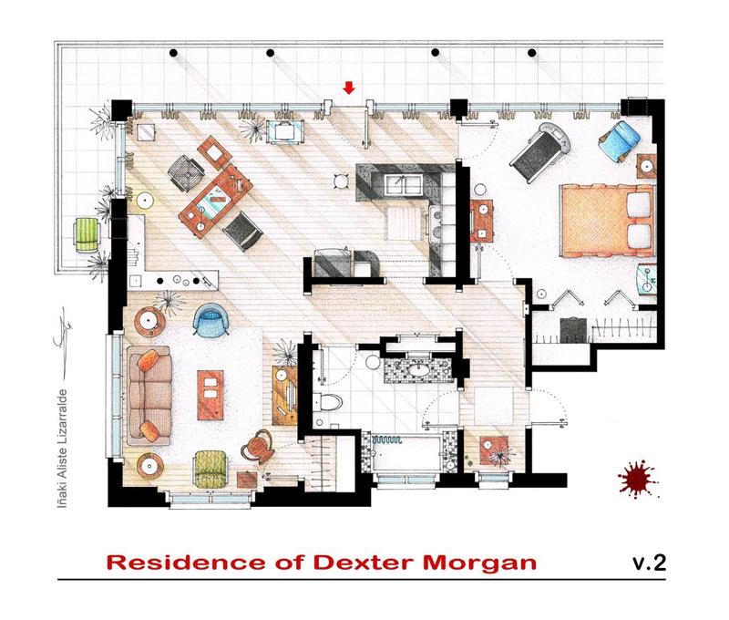 floor plan_of_dexter_morgan_s_apartment_by_Inaki Aliste Lizarralde-nikneuk