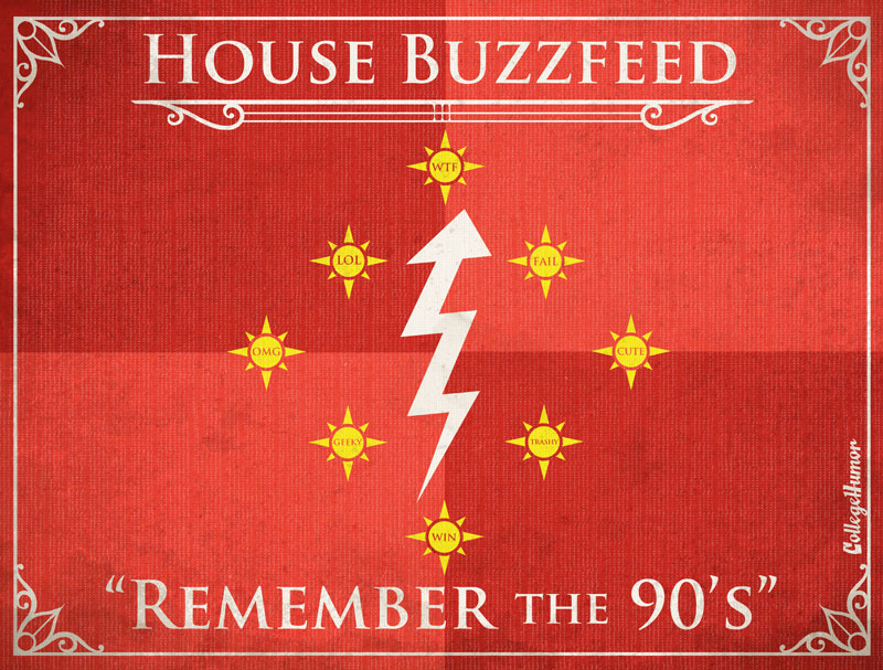 Game of thrones houses the internet edition 171 twistedsifter