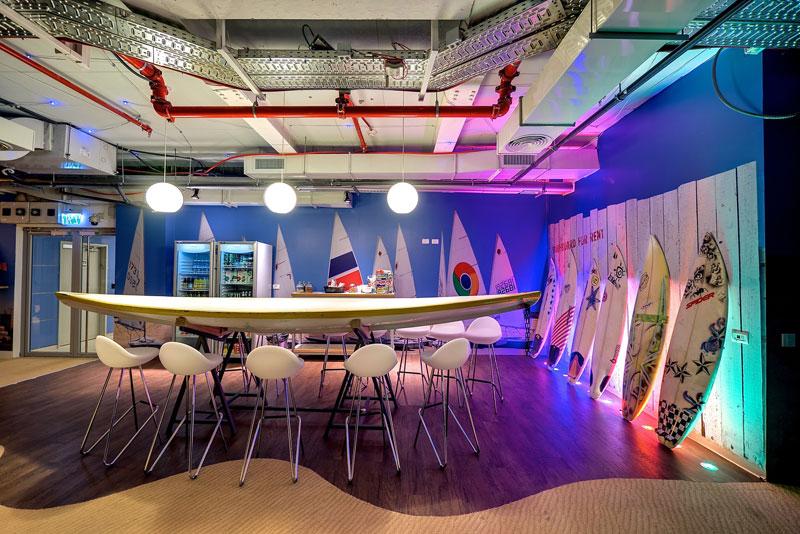 Google office tel aviv 24 Plan Google Tel Aviv Israel Office 9 Twistedsifter Googles Eclectic Tel Aviv Office Space 30 Pics twistedsifter