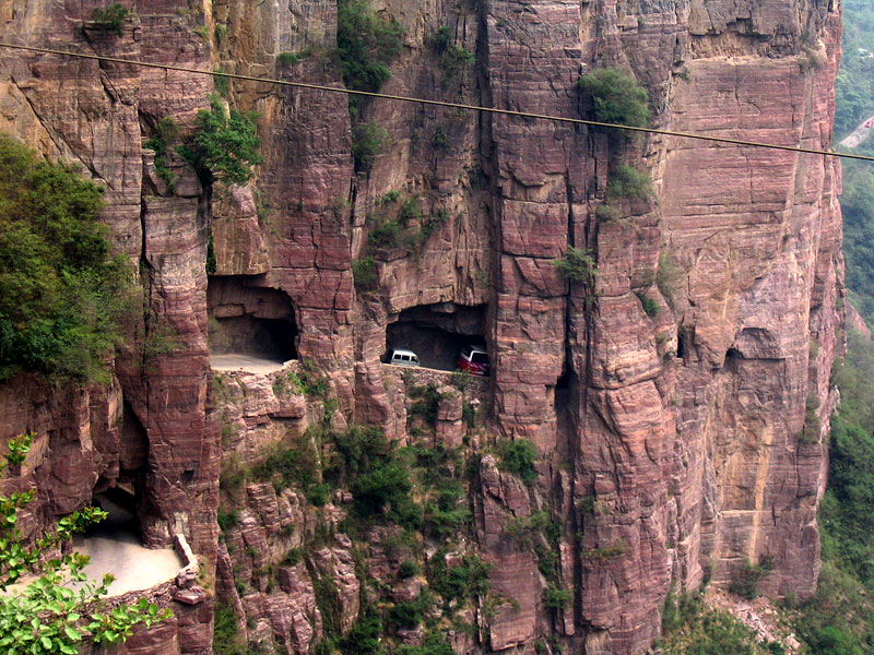 guoliang tunnel china 21 Roads You Have to Drive in Your Lifetime