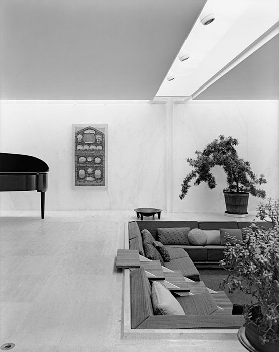Irwin-and-Xenia-Miller-House,-Eero-Saarinen,-Columbus,-IN,-1958-ezra-stoller