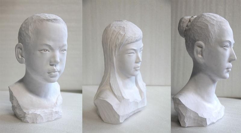 li hongbo paper sculptures malleable flexible (5)