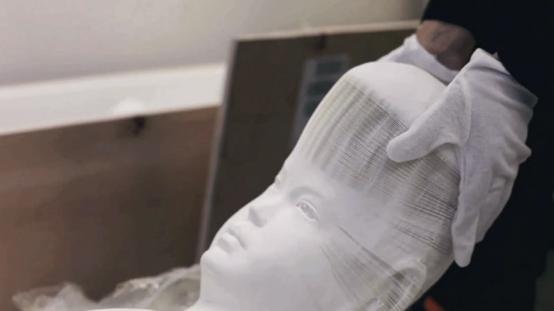 li hongbo paper sculptures malleable flexible (9)