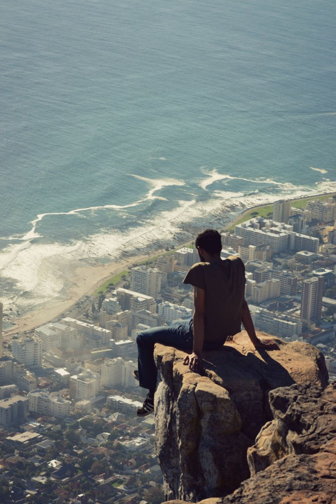 Picture of the Day: Looking Down from Lion's Head