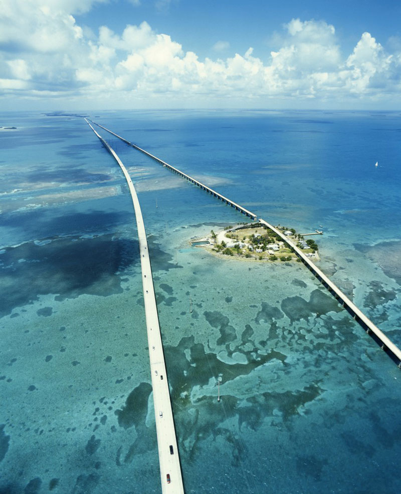 seven mile bridge florida united states 21 Roads You Have to Drive in Your Lifetime