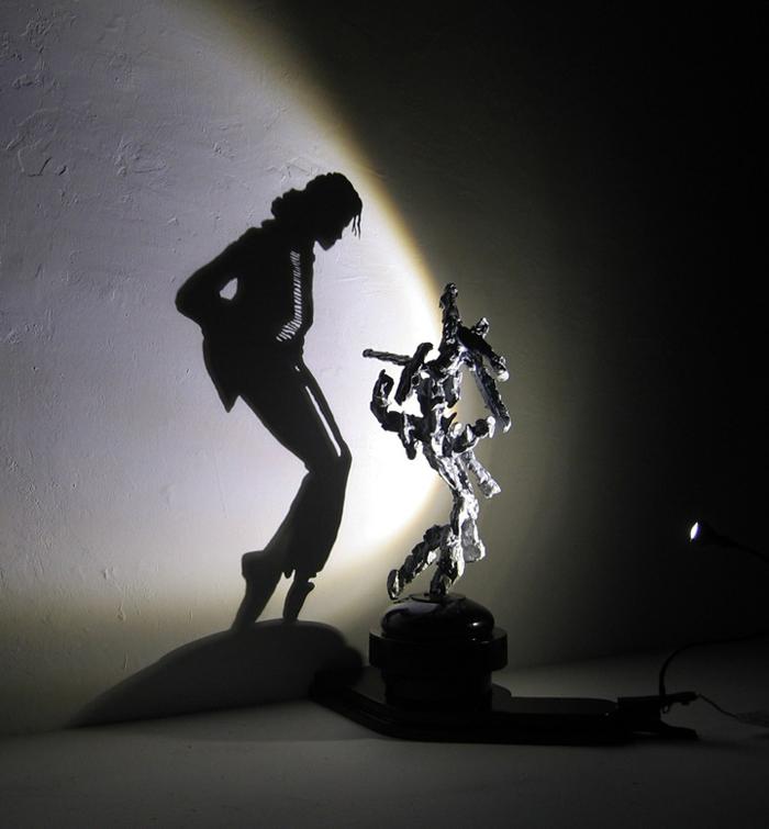 Shadow Art Sculptures by DietWiegman