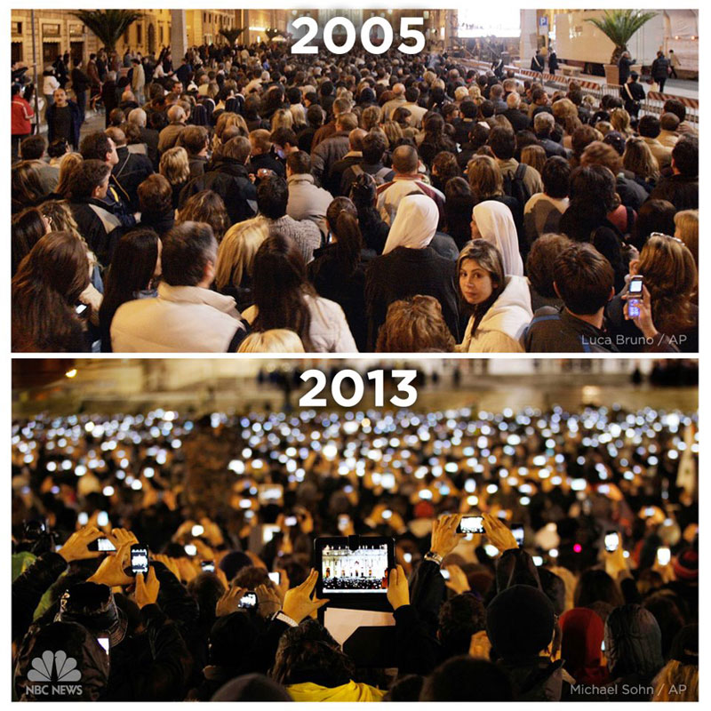 st-peters-square-vatican-cell-phone-2005-vs-2013