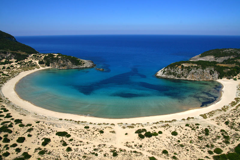 Picture of the Day: The Omega Shaped Beach inGreece
