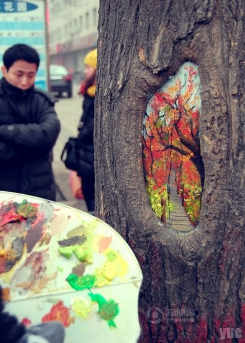 wang yue tree hole paintings (5)