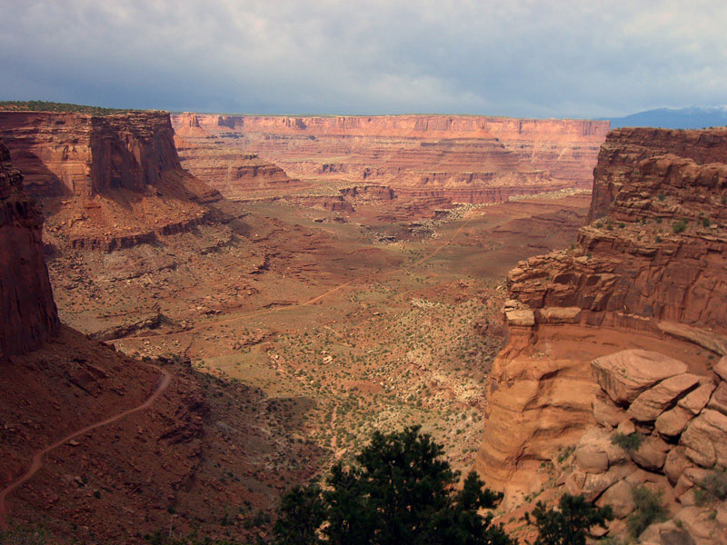 white rim road canyonlands national park utah 21 Roads You Have to Drive in Your Lifetime