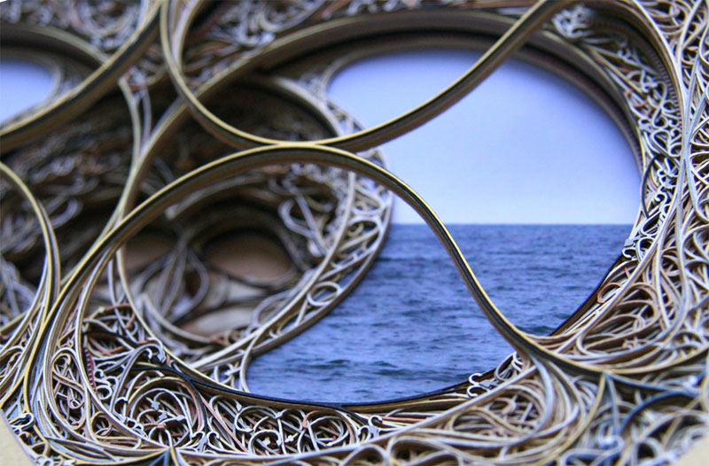 D Laser Cut Paper Art By Eric Standley TwistedSifter - Beautiful laser cut paper art eric standley