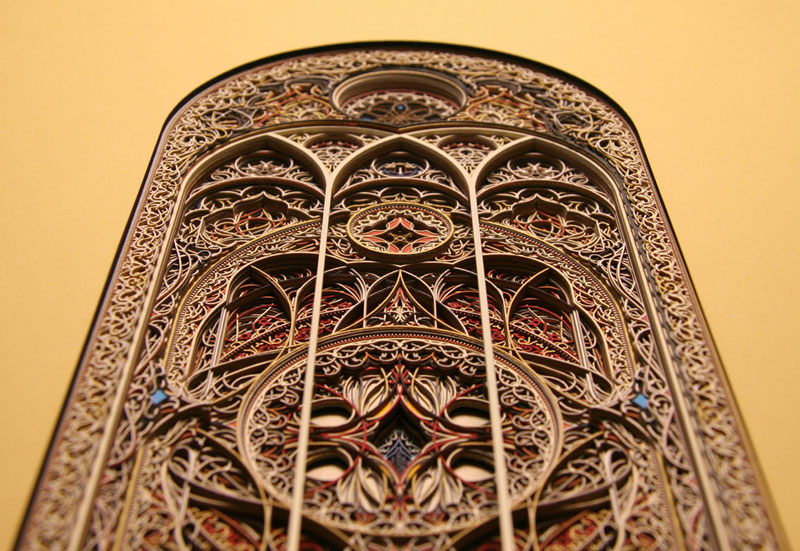 3d laser cut paper art by eric standley twistedsifter