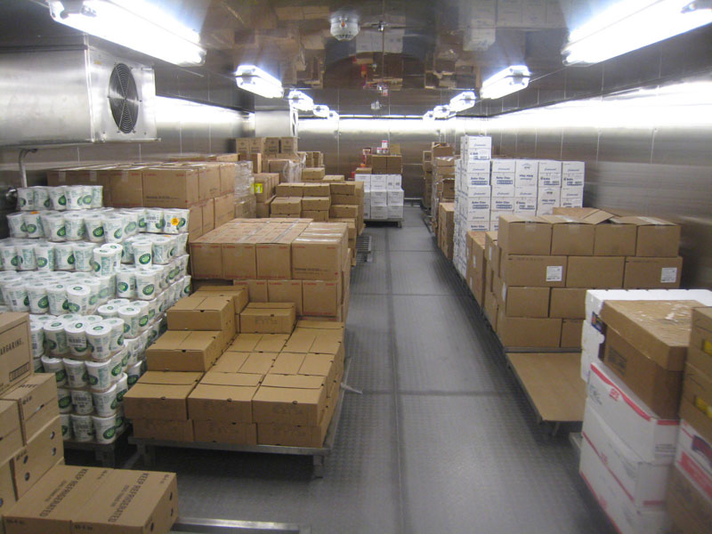 Allure of the seas food storage rooms (1)