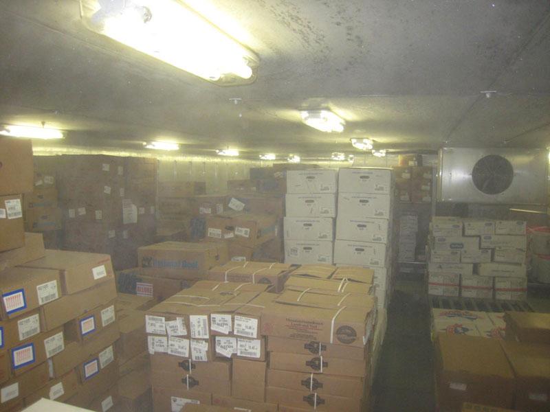 Allure of the seas food storage rooms (3)