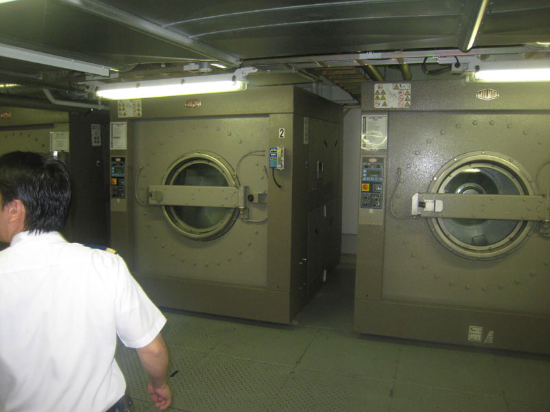 Allure of the seas laundry area (1)