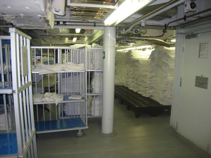 Allure of the seas laundry area (3)