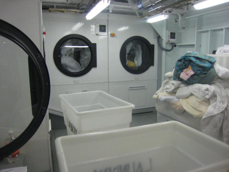 Allure of the seas laundry area (5)