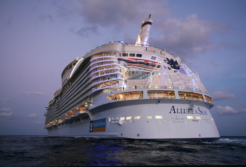 allure of the seas worlds largest cruise ship Behind the Scenes of the Worlds Largest Cruise Ship