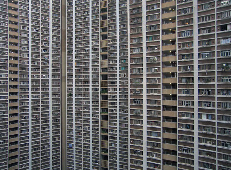 architectural density in hong kong michael wolf (11)