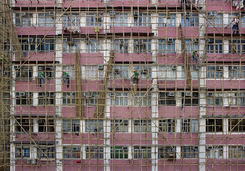 architectural density in hong kong michael wolf (12)