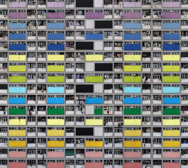 architectural density in hong kong michael wolf (5)