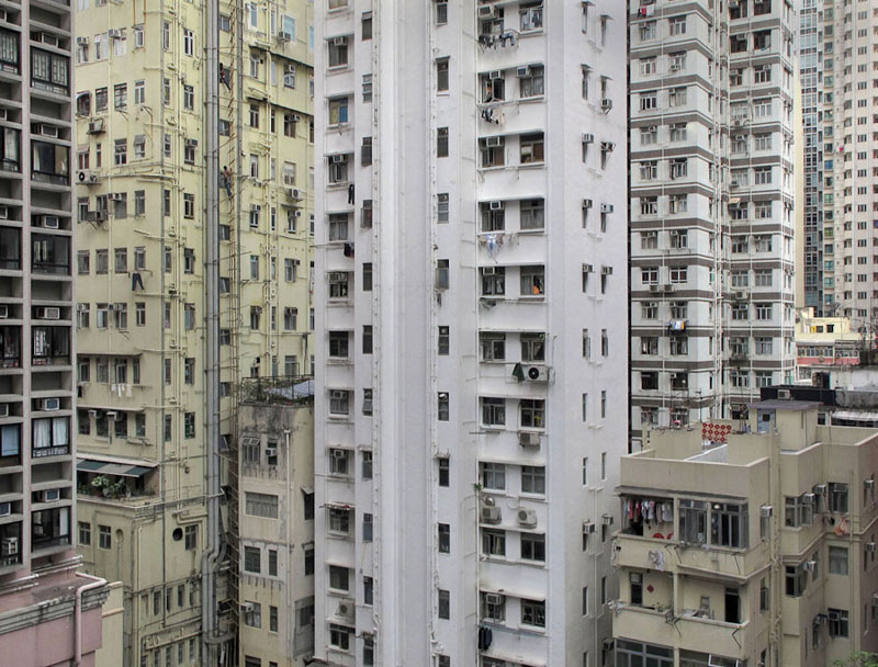 architectural density in hong kong michael wolf (9)