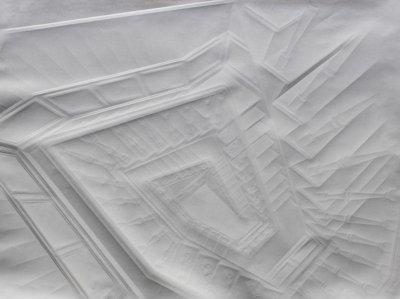 artwork made from a folded sheet of paper simon schubert (11)