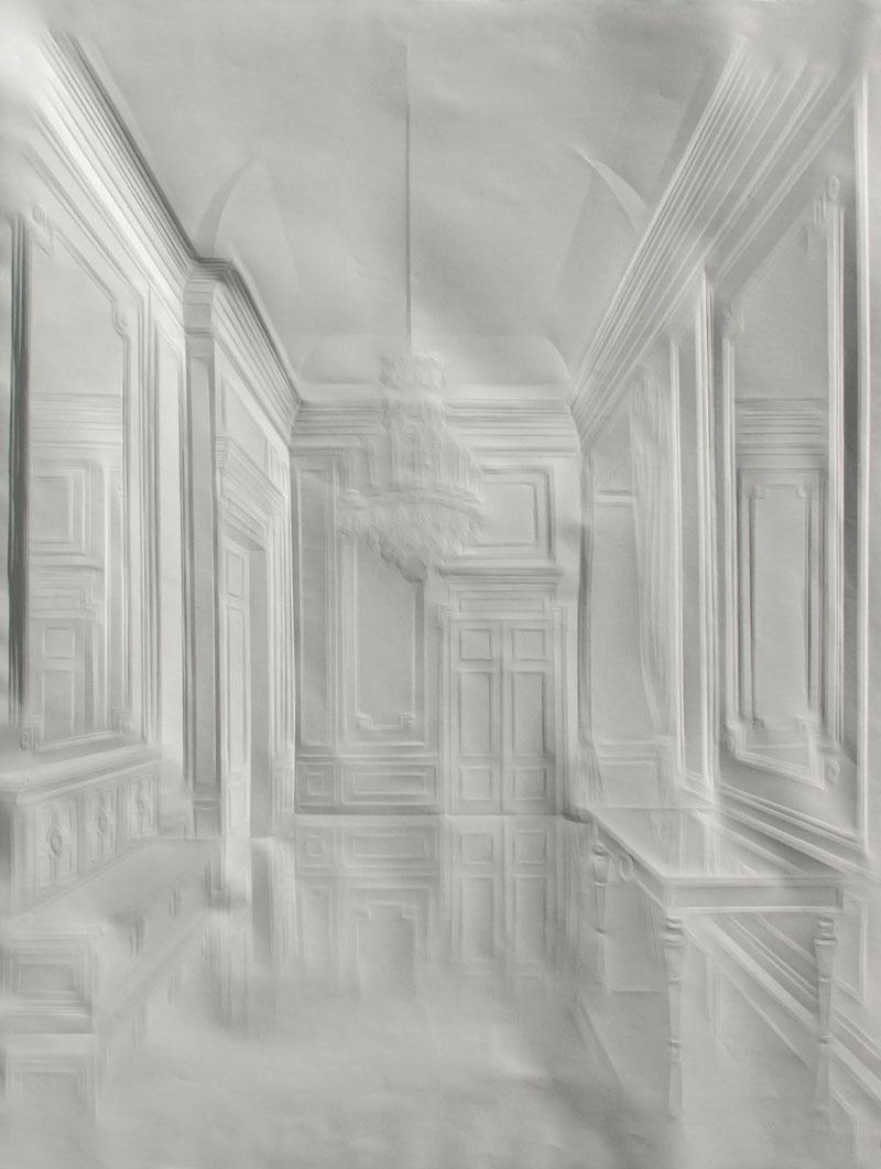 artwork made from a folded sheet of paper simon schubert (6)