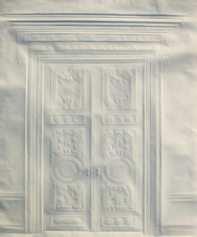 artwork made from a folded sheet of paper simon schubert (8)