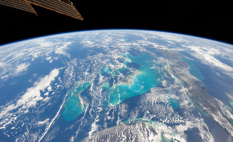 Picture of the Day: The Bahamas from Space
