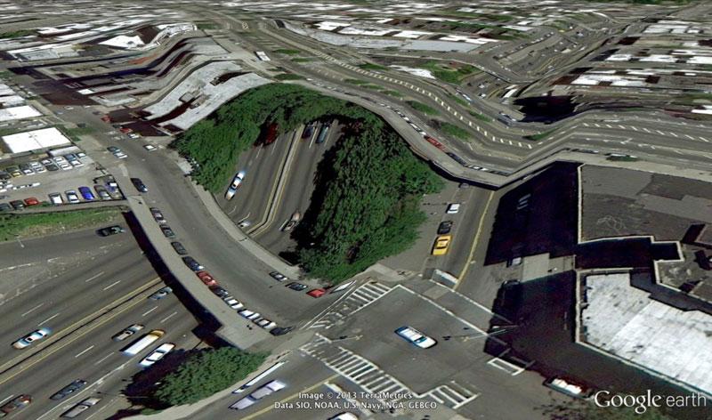 அன்றாடம் அசத்தல் படங்கள்  - Page 19 Bronx-new-york-google-earth-glitches-errors-clement-valla